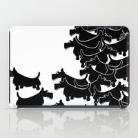 terrier iPad Cases featuring Scottish Terrier by mailboxdisco