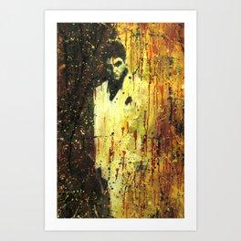 Tony Montana in Scarface Art Print