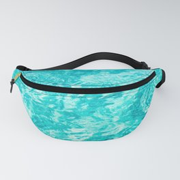 Turquoise Blue Ocean Water Fanny Pack