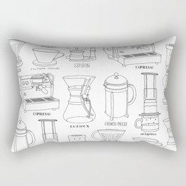 Coffee Brewing Rectangular Pillow
