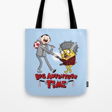 Time For a Big Adventure Tote Bag