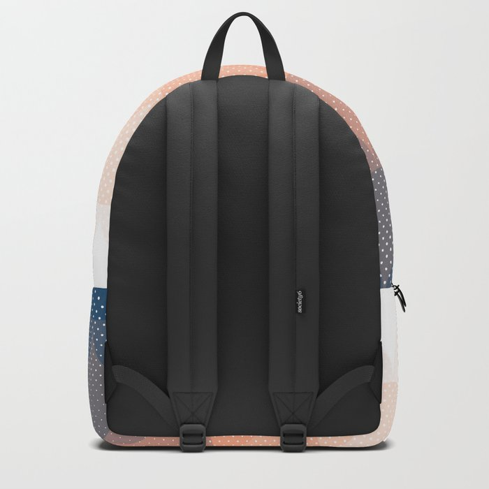Abstract Clouds Backpack