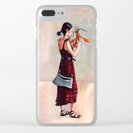 Lobster Love Clear iPhone Case