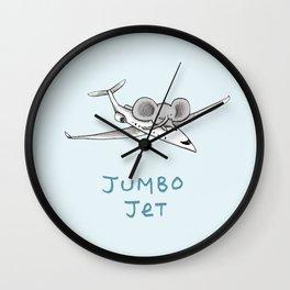 Jumbo Jet Wall Clock