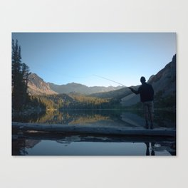 CAST IN THE FIRST LIGHT Canvas Print