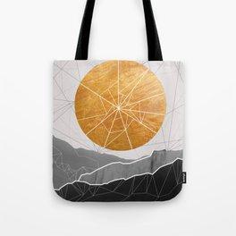 Shattered Sun Tote Bag