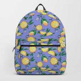 Purple lemons Backpack