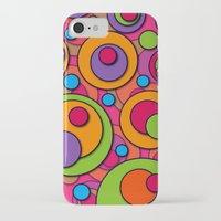 polka dots iPhone & iPod Cases featuring Polka Dots by Shelly Bremmer