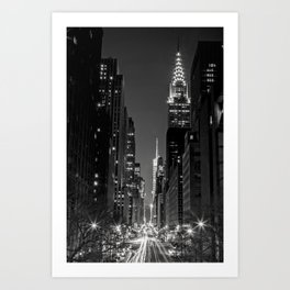 Tudor City Views, New York City Art Print