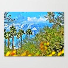 Californian Landscape Canvas Print