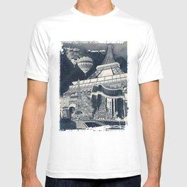 French Collage v1 Negative T-shirt