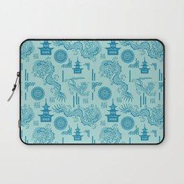 Blue Dragon Chinoiserie Laptop Sleeve