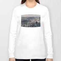 toronto Long Sleeve T-shirts featuring Toronto by Nick De Clercq
