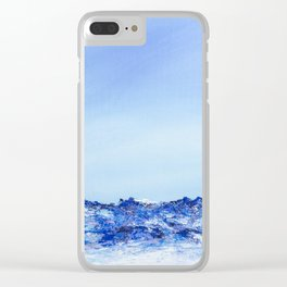 Grau Roig II Clear iPhone Case