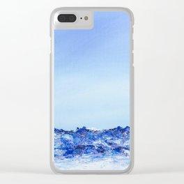 Grau Roig II Clear iPhone Case