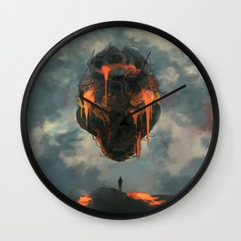 The Heart of Gold Wall Clock