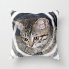 little Emma Throw Pillow