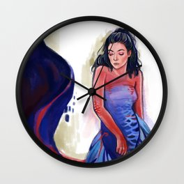 Lady of the lake II Wall Clock