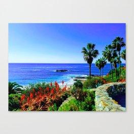 Tropical Scenic Overlook Canvas Print