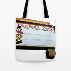 Friendly Duck Tote Bag