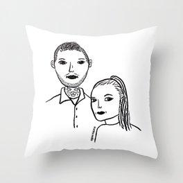 sadie pillow Throw Pillow
