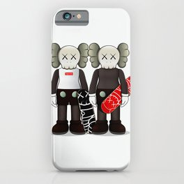 Kaws poster iPhone Case