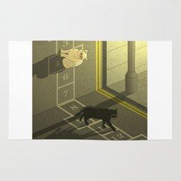 Cat Hopscotch  Rug