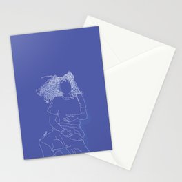 Princess blue Stationery Cards