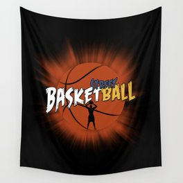 Basketball - i love basketball Wall Tapestry