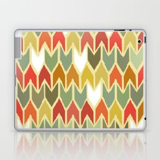 warm ikat chevron Laptop & iPad Skin