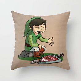 The Legend of Blaine Throw Pillow