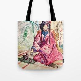 Geshia Tea Time Tote Bag