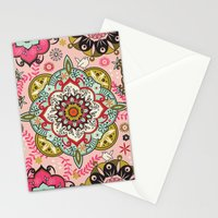 Mandala color pattern Stationery Cards