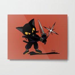 Ninja Whim Metal Print