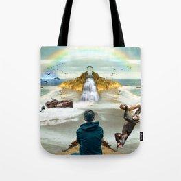 dreamer in Laguna Beach Tote Bag