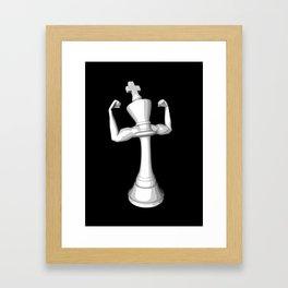 The White King Framed Art Print