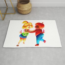 isabelle and digby Rug