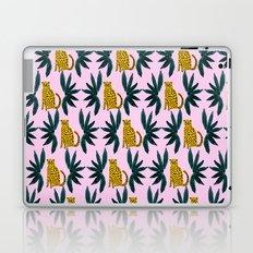 Cheetah and Leaves Laptop & iPad Skin