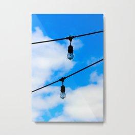 """""""Day Lights"""" Metal Print"""