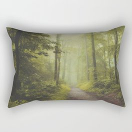 Long Forest Walk Rectangular Pillow