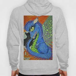 baby sparkle dragon Hoody
