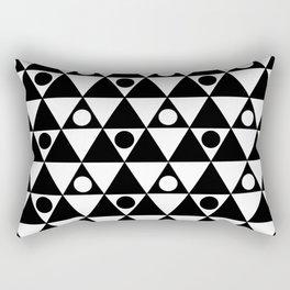 Monochrome Fantasy VI Rectangular Pillow