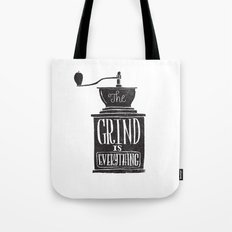 the daily grind Tote Bag