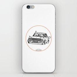 Crazy Car Art 0224 iPhone Skin