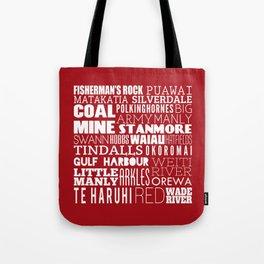 Hibiscus Coast - Version Seven Tote Bag