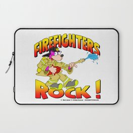 Firefighters Rock Merchandise Laptop Sleeve