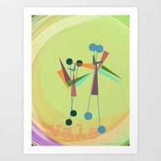 VALS Art Print