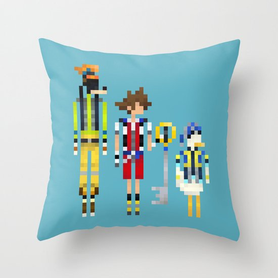 Heart Heroes Throw Pillow