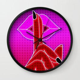 keep it quiet Wall Clock