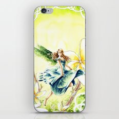 Spring faery iPhone & iPod Skin